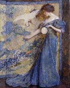 Robert Reid The Mirror oil