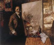 William Merritt Chase Self-Portrait oil painting