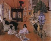 William Merritt Chase Hall painting