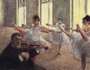 unknow artist Dance oil painting reproduction