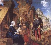 Albrecht Durer Adoration of the Magi oil painting reproduction