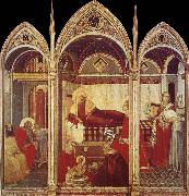 Ambrogio Lorenzetti Birth of the Virgin oil painting reproduction