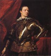 Anthony Van Dyck Portrait of a young general oil painting reproduction