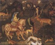 Antonio Pisanello The Vision of Saint Eustace oil painting reproduction