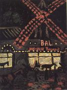 Auguste Chabaud Le MoulinRouge,La mit oil on canvas