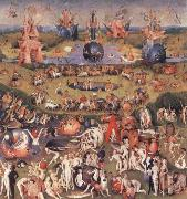 BOSCH, Hieronymus The Garden of Earthly Delights oil painting reproduction