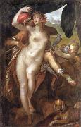 Bartholomaus Spranger Venus and Adonis china oil painting artist
