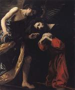 CRESPI, Giovanni Battista THE agony of Christ oil on canvas