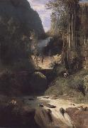 Carl Blechen Gorge near Amalfi oil on canvas