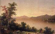 Casilear John William View on Lake George oil on canvas