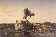 Charles Tournemine Recollection of Asia Minor oil on canvas