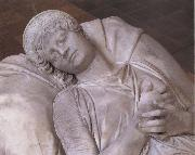 Christian Daniel Rauch Funerary Sculpture of Queen Luise of Prussia oil on canvas