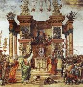 Filippino Lippi The Hl. Philippus and the dragon oil painting reproduction