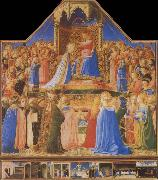 Fra Angelico The Coronation of the Virgin oil painting reproduction