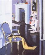Francis Campbell Boileau Cadell The Gold Chair oil painting reproduction