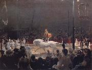 George Bellows The Circus oil painting reproduction
