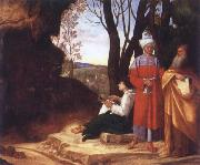 Giorgione The Three Philosophers oil painting
