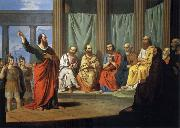 Giovanni Ricco Sermon of the Hl. paulus oil