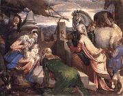 Jacopo Bassano Adoration of the Magi oil painting reproduction