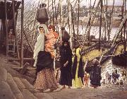 James Tissot Sojourn in Egypt oil painting reproduction