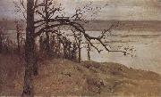 Levitan, Isaak Flood at the Sura oil painting reproduction