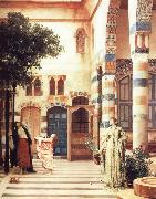 Lord Frederic Leighton Old Damascus The Jewish Quarter painting