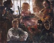 Lovis Corinth The Family of the Painter Fritz Rumpf china oil painting artist