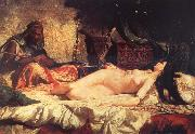 Mariano Fortuny y Marsal Odalisque oil