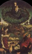 Nicolas Froment The Burning Bush oil painting reproduction