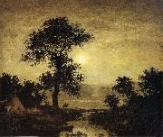 Ralph Blakelock Moonlight oil