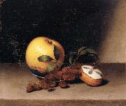 Raphaelle Peale Still Life with Cake oil