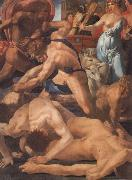 Rosso Fiorentino Moses Defending the Daughters of Jethro oil painting reproduction