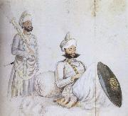 William Carpenter Maharana Sarup Singh of Mewar oil on canvas