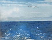 William Stott of Oldham Seagulls Astern oil painting reproduction