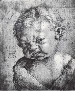 Albrecht Durer Head of a Weeping cherub painting