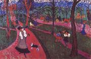 Andre Derain Hyde Park painting