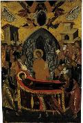 Andreas Ritzos The Dormition of the Virgin oil