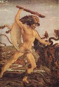 Antonio del Pollaiuolo Hercules and the Hydra painting