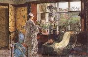 Atkinson Grimshaw Spring oil painting reproduction