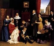 BEGAS, Carl the Elder The Begas Family oil on canvas