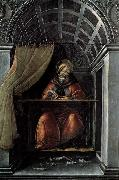 BOTTICELLI, Sandro St Augustine in His Cell oil painting reproduction