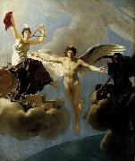Baron Jean-Baptiste Regnault The Genius of France between Liberty and Death oil
