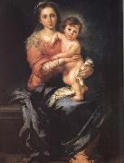 Bartolome Esteban Murillo Madonna and Child oil painting reproduction
