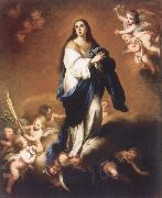 Bartolome Esteban Murillo Our Lady of the Immaculate Conception painting