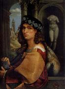 CAPRIOLO, Domenico Portrait of a man oil on canvas