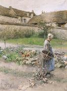 Carl Larsson October painting