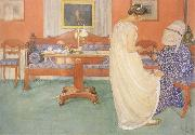 Carl Larsson The Bridesmaid china oil painting artist