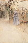 Carl Larsson Autumn oil painting reproduction