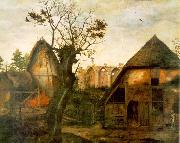 DALEM, Cornelis van Landscape with Farm oil on canvas