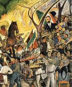 Diego Rivera Dream oil painting reproduction